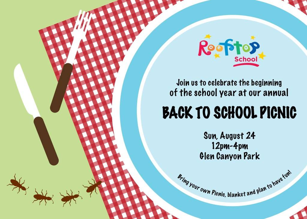 Back to School Picnic 2014